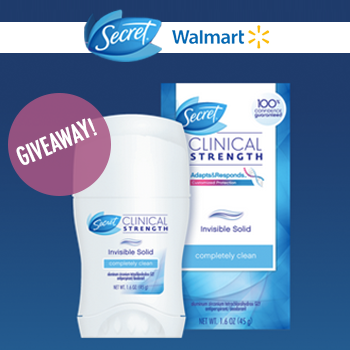 Enter the #OutsmartStress @SecretDeodorant Giveaway!