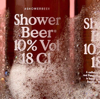 A Beer Brewed Especially For Your Enjoyment...In the Shower