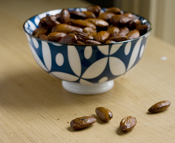 Smoky Roasted Almonds for Your Holiday Parties