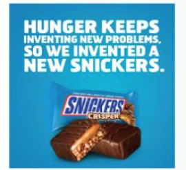 Did Hunger Strike? Get #Satisfaction By Entering the @SheSpeaksUp SNICKERS® Crisper Giveaway!