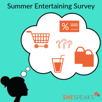 Summer Entertaining Survey: …