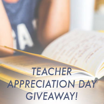 Celebrate #TeacherAppreciationDay By Winning a @SheSpeaksUp Giveaway for You & A Favorite Teacher!