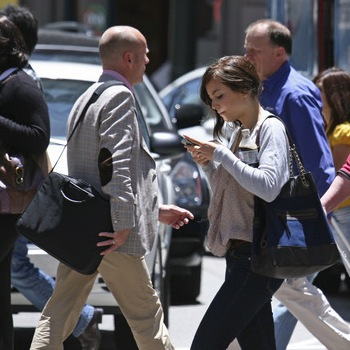 Why There Is No Need To Fear The Texting Pedestrian