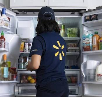 Walmart's New Delivery Program Comes Right to Your Home Fridge, Even When You're Not There