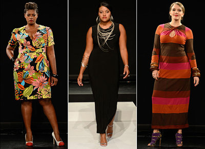Plus-Size Clothing Line Debut, A Fashion Week First