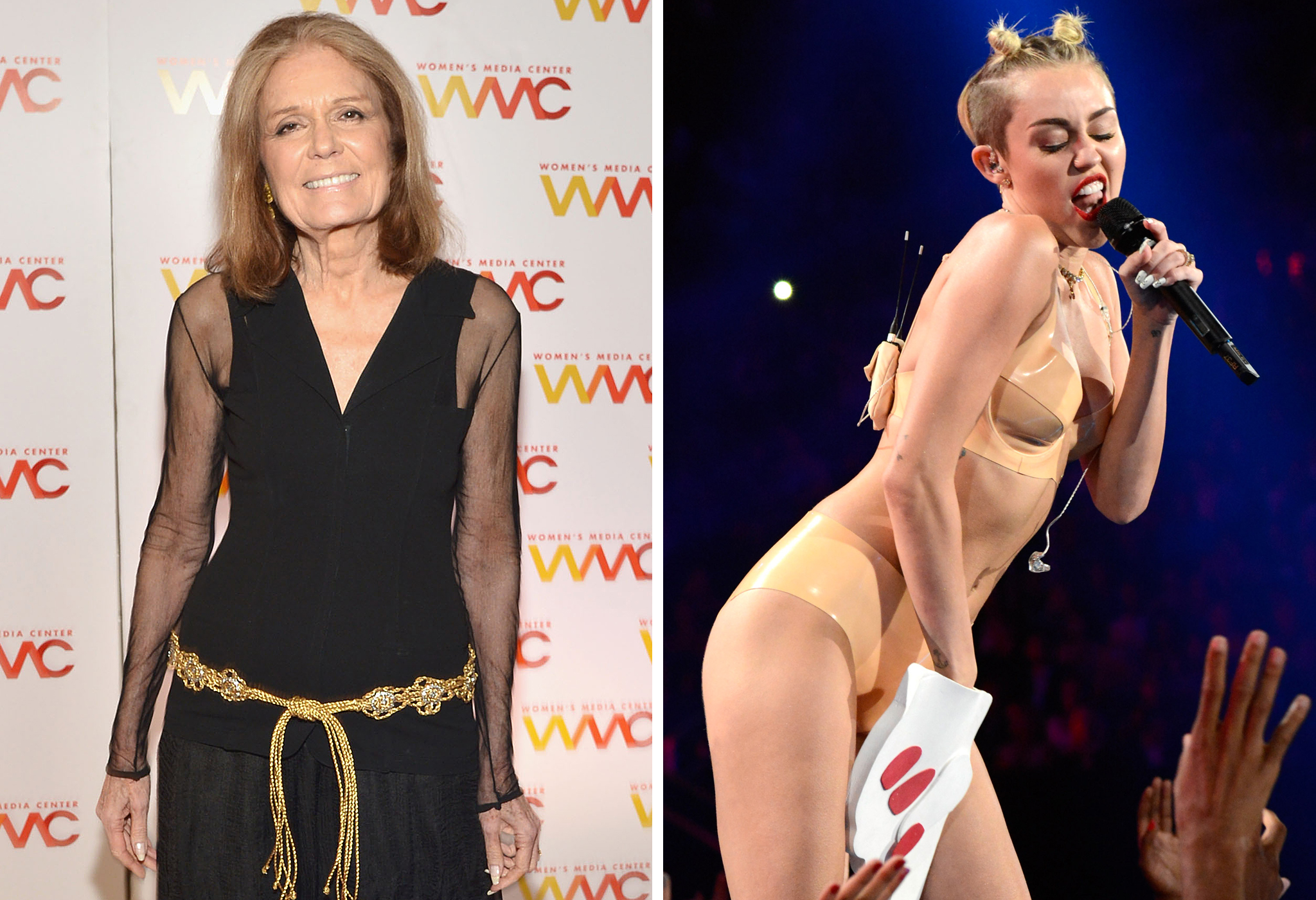 Gloria Steinem Weighs in On All the Miley Controversy