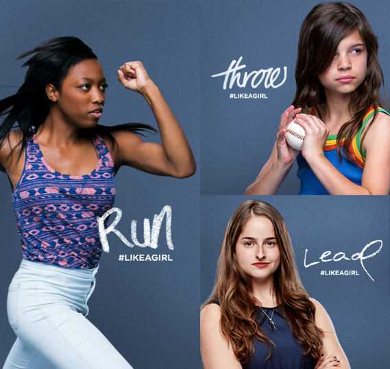 Always Redefines #LikeAGirl to Empower Young Girls