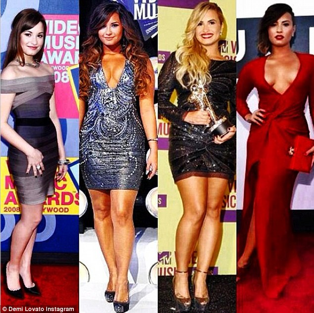 Demi Lovato Talks Recovery and Compares Four Years of Dresses From the VMA Red Carpet