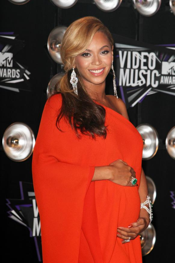 Beyonce's Baby Bump Reveal Breaks Records