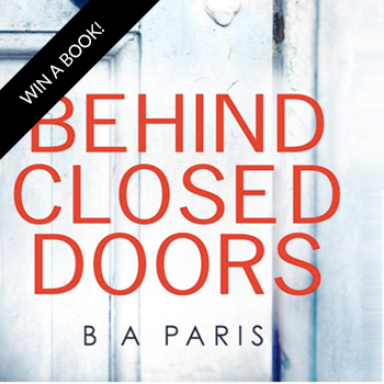 Enter To Win 1 of 5 #BehindClosedDoors Books in our @StMartinsPress & @SheSpeaksUp Giveaway!
