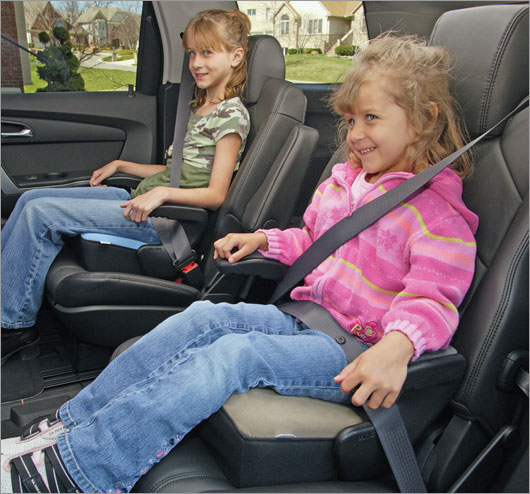 Does Your Carpooling Kid Go Without a Car Seat?