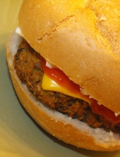 Homemade Black Bean Veggie Burger Recipe