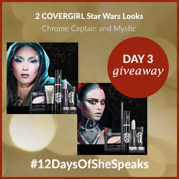 #12DaysOfSheSpeaks Day 3: Win a COVERGIRL Star Wars Prize Pack