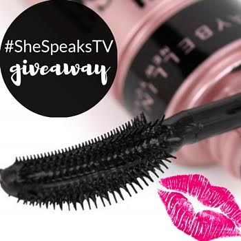#Beauty | Maybelline Sensational Mascara Review + Giveaway! #SheSpeaksTV