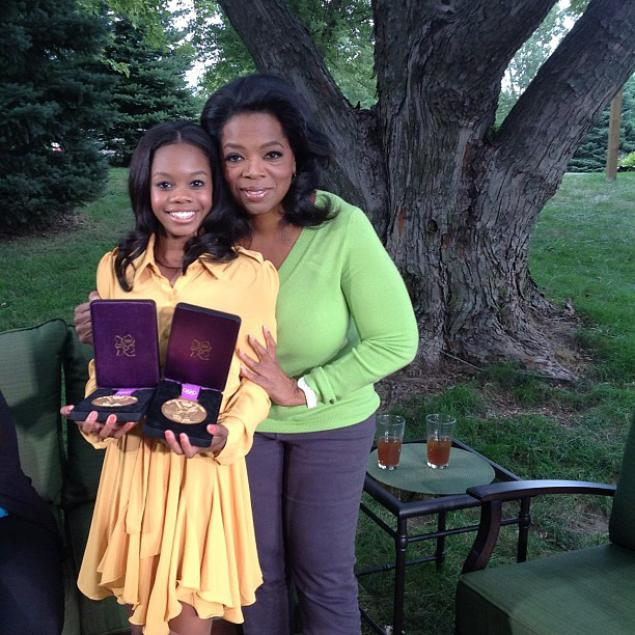 Gabby Douglas Reveals the Bu…