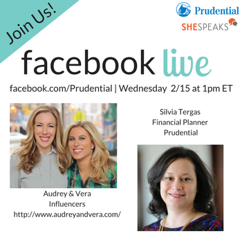 Join Us with Prudential on Facebook Live on 2/15 to #OwnMyFuture