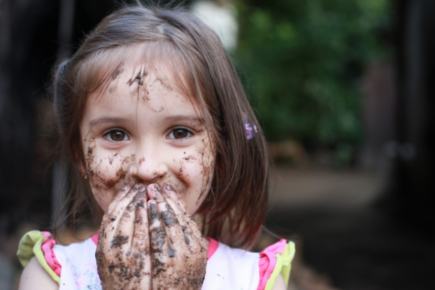 Want To Raise a Healthy Daughter?  It May Be Time To Let Her Get Her Hands Dirty.