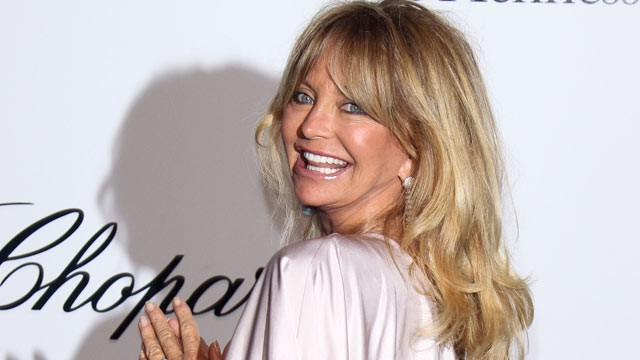 Goldie Hawn Wants To Make Your Kids Happy