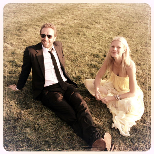 Gwyneth Paltrow and Chris Martin's