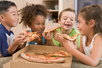 When Pizza Is a Problem: Health Advocates Say Kids Eat Too Much of the Cheesy Stuff