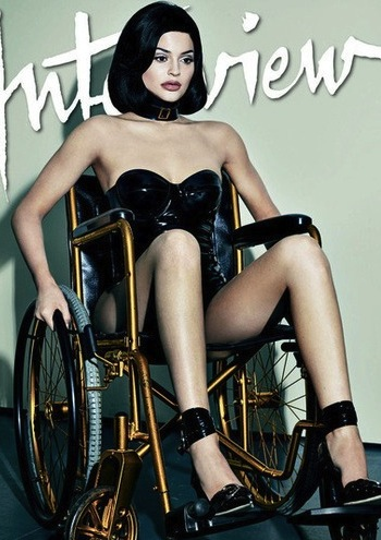 Disabled Community Voices Offense Over Kylie Jenner Wheelchair Photos