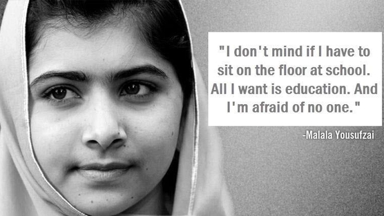 Malala Yousafza is Youngest Female Ever to Win Nobel Peace Prize