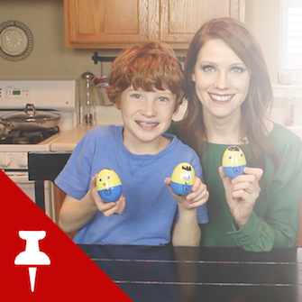 Minion Easter Eggs with #She…