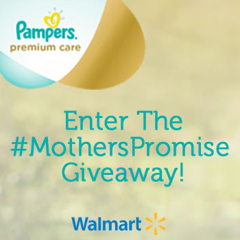 Enter the Pampers #MothersPromise Instagram Giveaway!
