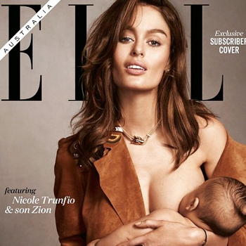 Elle Australia's Surprising June Cover