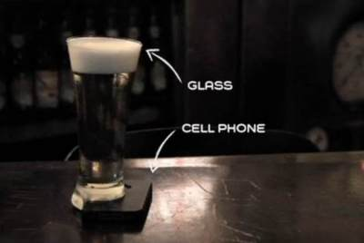 Smartphones Double as Coasters To Encourage Intimacy Among Friends