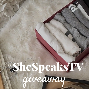 Organizing made easy on #SheSpeaksTV + Giveaway!