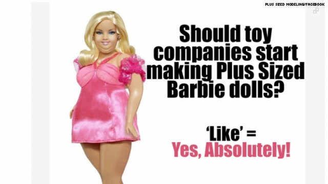 Image of Plus-Size Barbie Sp…