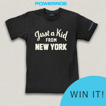Enter the @POWERADE & @SheSpeaksUp #JustAKidFrom Giveaway!