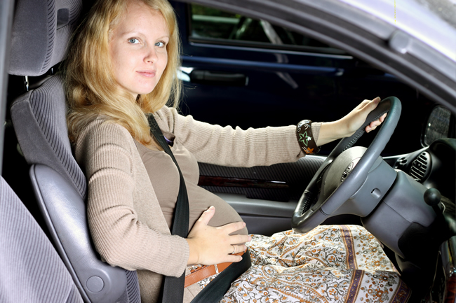 Hidden Danger of Driving While Pregnant