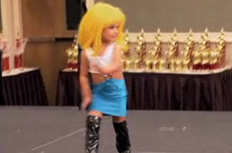 Does This Child Pageant Costume Cross The Line?