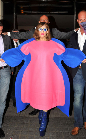 Lady Gaga On All the Weight …