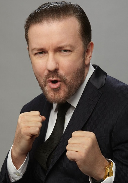 The Gloves Are Off Again As Ricky Gervais Gets Ready To Host the Golden Globes