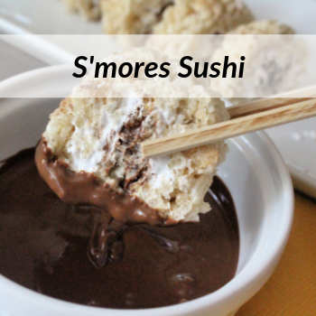 Keep Summer Going with our S'mores Sushi Recipe & Enter to Win a $25 Gift Card