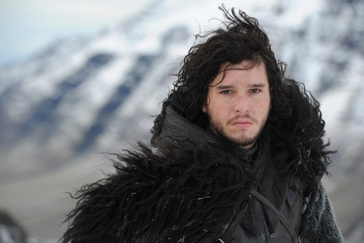 Stop Looking At His Abs! Game of Thrones Kit Harington Says His