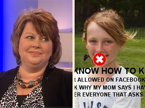 One Mom's Facebook Takeover: Fair Punishment or Going Too Far?