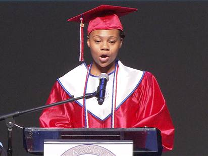 Homeless Teen Who Graduated at the Top of Her Class Offers Inspiring Words