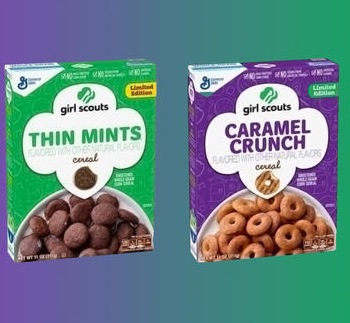 Our Girl Scout Cookie Dreams Come True As New Breakfast Cereal Is Announced