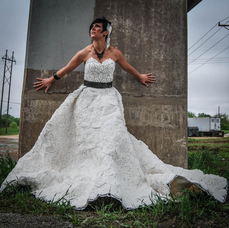 Annual Toilet Paper Wedding Dress Contest Offers Up Jaw-Dropping Designs