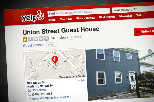 Hotel Threatens To Charge Guests For Negative Yelp Reviews