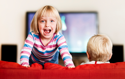 TV's Negative Effects, Even When Our Kids Aren't Watching