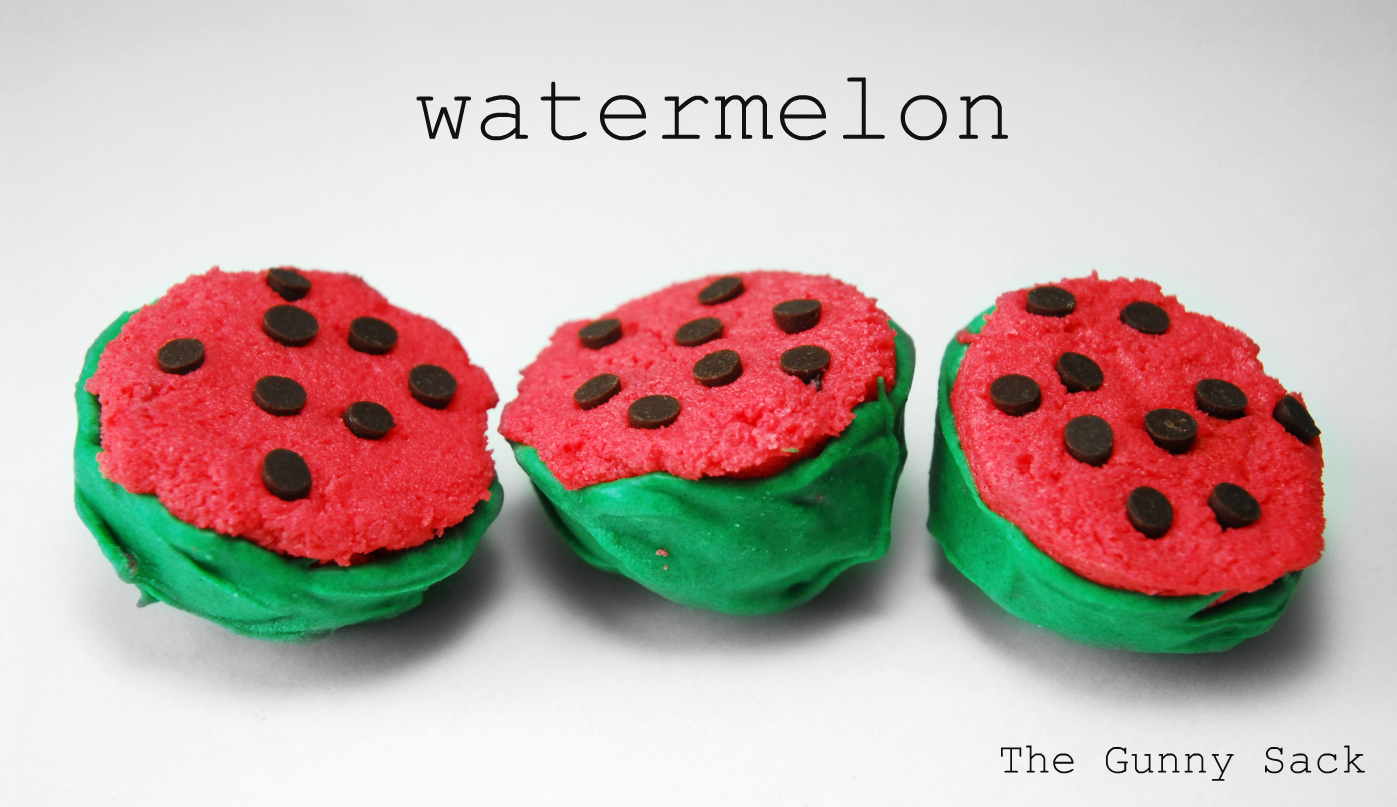 Watermelon Cake Balls for National Watermelon Day on August 3rd