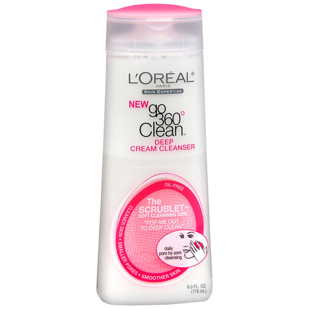 L'Oreal  360 Clean Deep Cream Cleanser