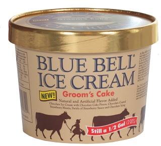 Blue Bell Ice Cream Grooms Cake SheSpeaks Reviews
