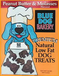 Blue Dog Bakery Peanut Butter and Molasses Dog Treats