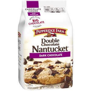 Pepperidge Farm Nantucket Double Chocolate Chunk Cookies